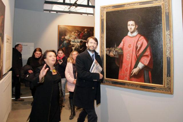 Il ministro Franceschini all'inaugurazione del nuovo museo Nazionale di L'Aquila | progetto esecutivo torinoarchitetti.com